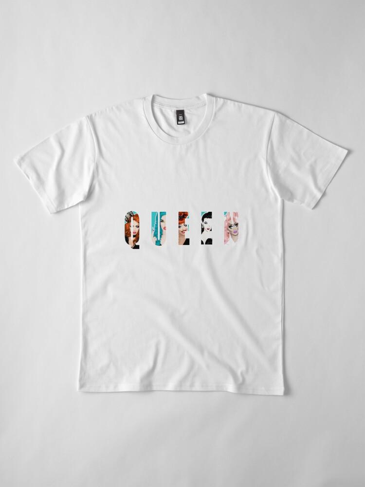 Alternative Ansicht von RuPauls Drag Race Queens, ft. Bianca Del Rio, Adé Delano, Alyssa Edwards, Violet Chachki und Trixie Mattel Premium T-Shirt