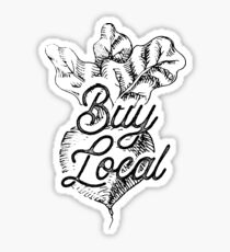 Buy Local - BeetsFarm Buy Local Organic Sticker