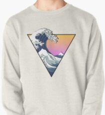Great Wave Aesthetic Pullover