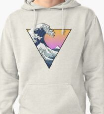 Great Wave Aesthetic Pullover Hoodie