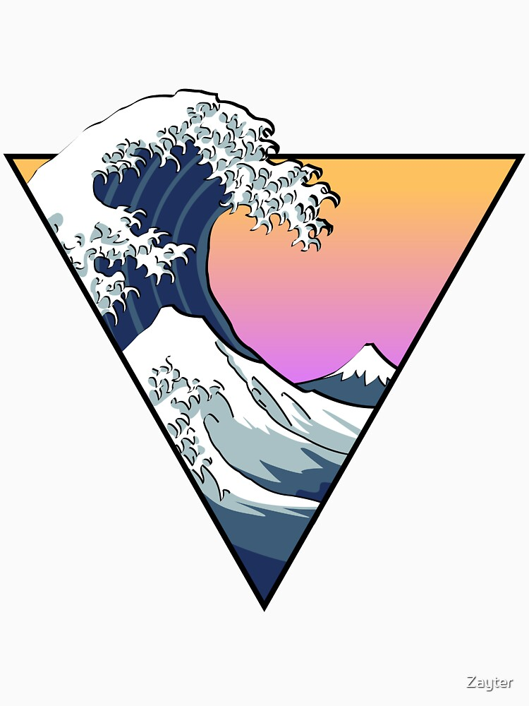 Great Wave Aesthetic by Zayter