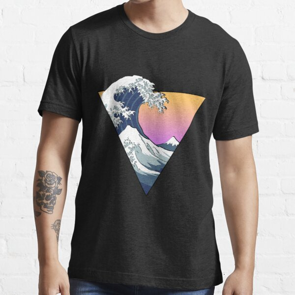 Great Wave Aesthetic Essential T-Shirt