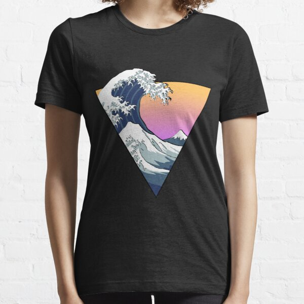 Grande vague esthétique T-shirt essentiel