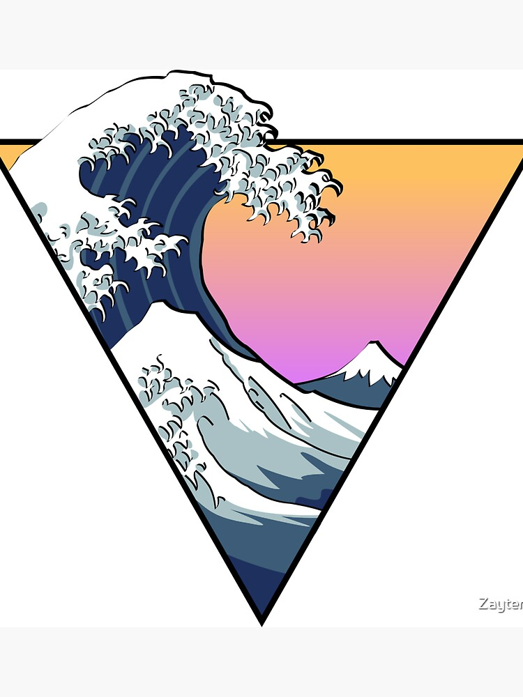 Great Wave Esthetic de Zayter