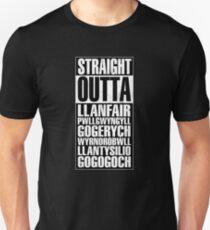 Straight Outta Llanfair PG Unisex T-Shirt