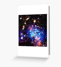 SPACE. THE FINAL FRONTIER. Greeting Card