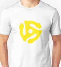Vinyl 45 RPM Yellow T-Shirt