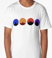 Attraction Circles V1 Long T-Shirt