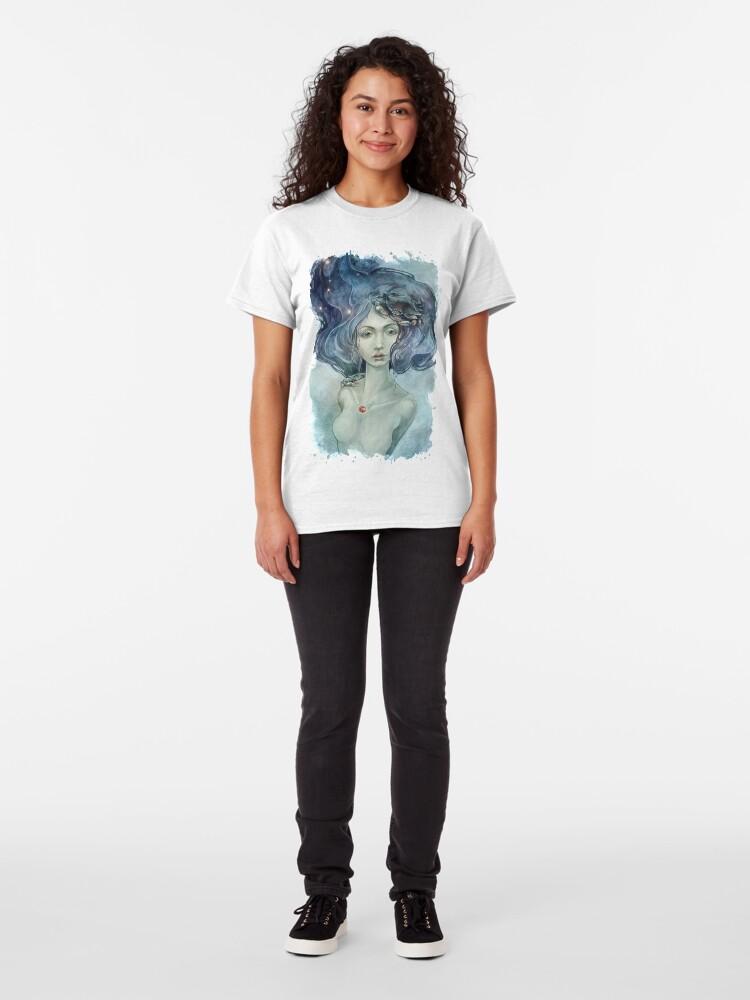 Alternate view of Zodiac Cancer Classic T-Shirt