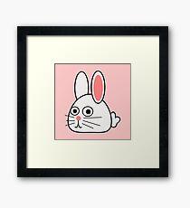 sehr niedliche Kaninchen Gerahmtes Wandbild