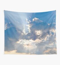 Ciel et rayons Wall Tapestry
