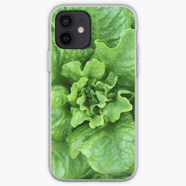 Bunch of Fresh Green Salad iPhone Soft Case