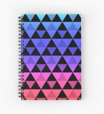 Cuaderno de espiral Rainbow Tri-Pattern 2
