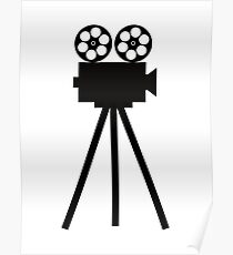 Movie Projector  Poster