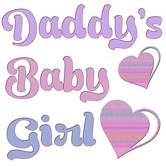 3c229cc55d2c1 'Daddy's Baby Girl' Photographic Print by FUGear