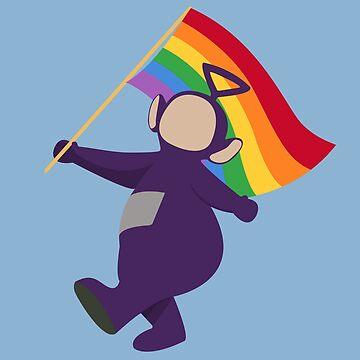 Tinky Winky Pride by LaEstetica