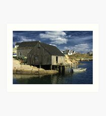 Peggy's Cove Art Print