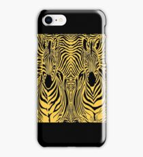ZEBRA : Twin Abstract Design Colorful Print iPhone Case/Skin