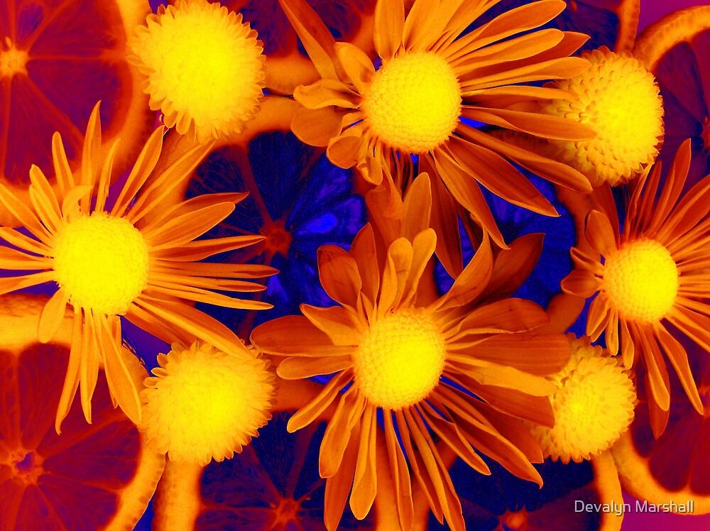Lemons and Flowers by Devalyn Marshall