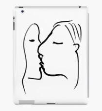 The Kiss -(090717)- Digital artwork: iPad/Zen Brush App. iPad Case/Skin