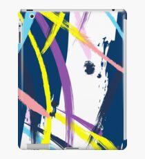 Navy fantasy iPad Case/Skin