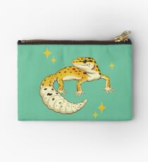 Sparkly Leopard Gecko Studio Pouch