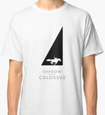 Shadow of the Colossus - Sanctuary silhouette black Classic T-Shirt