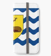 Flag of Hertfordshire, England iPhone Wallet/Case/Skin