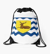 Flag of Hertfordshire, England Drawstring Bag