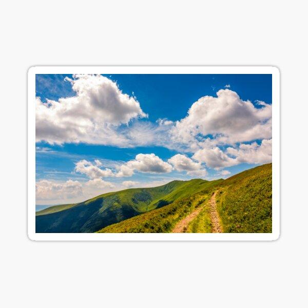 beautiful summer landscape in mountains Sticker