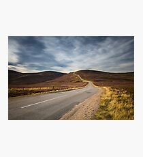 Highland Road Photographic Print