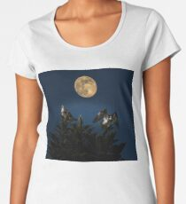 Ospreys with the moon Women's Premium T-Shirt