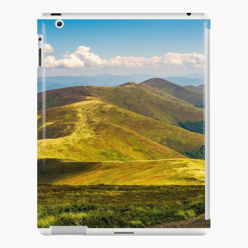 mountain hillsides in late summer iPad Case & Skin