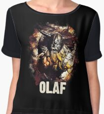 League of Legends OLAF Women's Chiffon Top