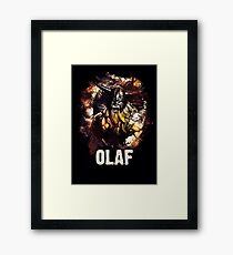 League of Legends OLAF Framed Print