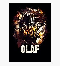 League of Legends OLAF Photographic Print