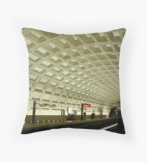 The Underground Metro System  ^ Throw Pillow