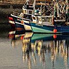Le port le soir by cclaude