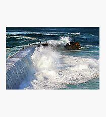 Sennen -The Wall. Photographic Print