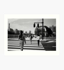 Tokyo Stripes Art Print