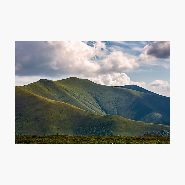 Carpathian Mountain Range in summer Photographic Print