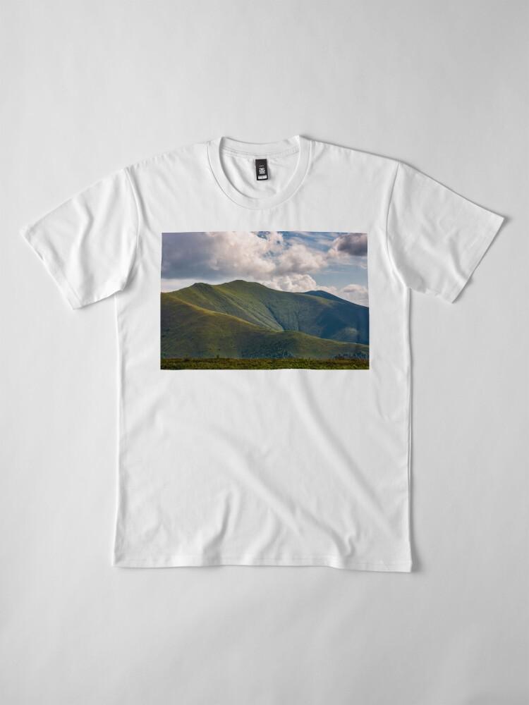 Alternate view of Carpathian Mountain Range in summer Premium T-Shirt