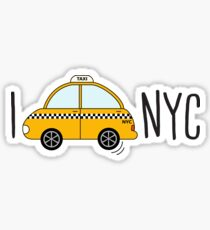I love NYC Sticker