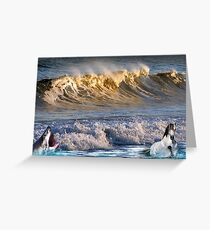 926-High Surf Drama Greeting Card