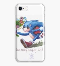 Rag doll Sonic the Hedgehog iPhone Case/Skin