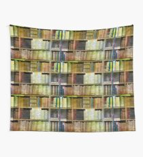 Antique Books Wall Tapestry
