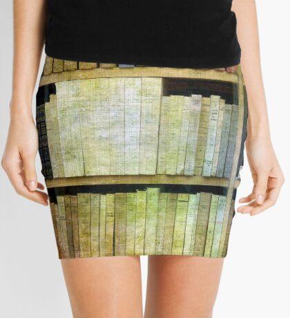 Antique Books Mini Skirt