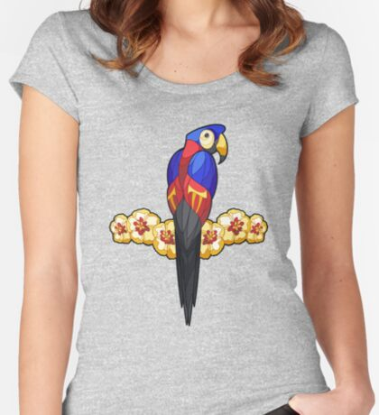 Pride Birds - Polyamory Fitted Scoop T-Shirt