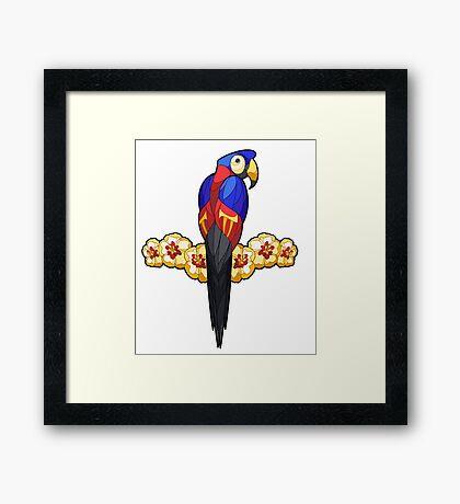 Pride Birds - Polyamory Framed Print