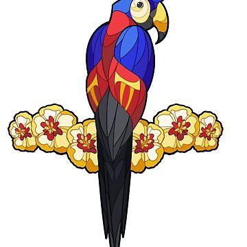 Aves del orgullo - Poliamor de wanderingkotka